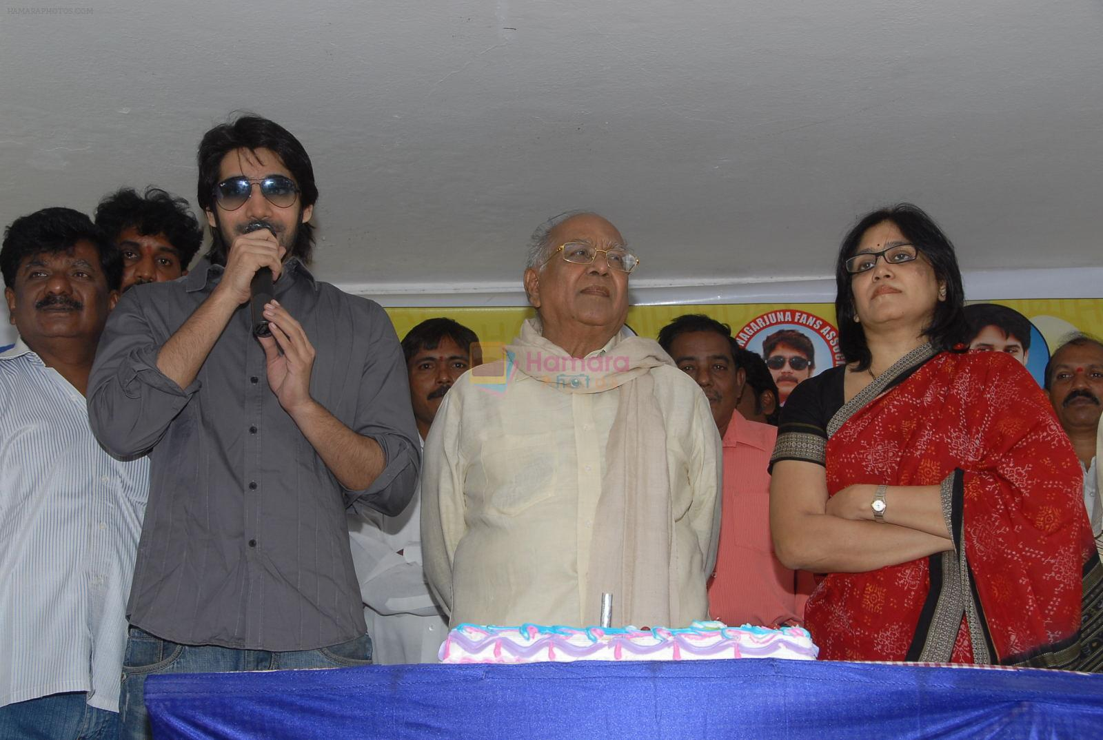 Nagarjuna Turns 52 - Birthday Celebrations on 29th August 2011