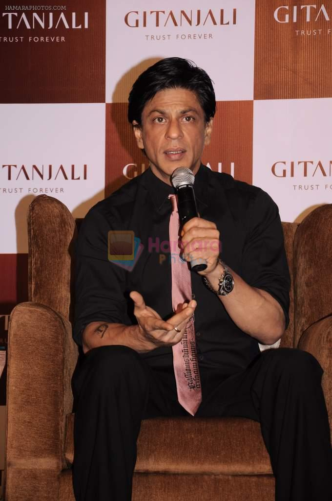 Shahrukh Khan promotes RA One in association with Gitanjali in Trident, Mumbai on 25th Sept 2011