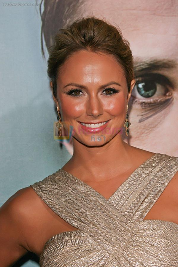 Stacy Keibler attends the The Ides of March Los Angeles Premiere in AMPAS Samuel Goldwyn Theater on 27th September 2011