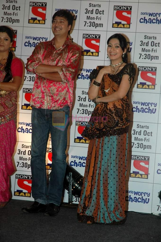 at SAB TV launch for Don_t Worry Chachu in Novotel, Mumbai on 27th Sept 2011