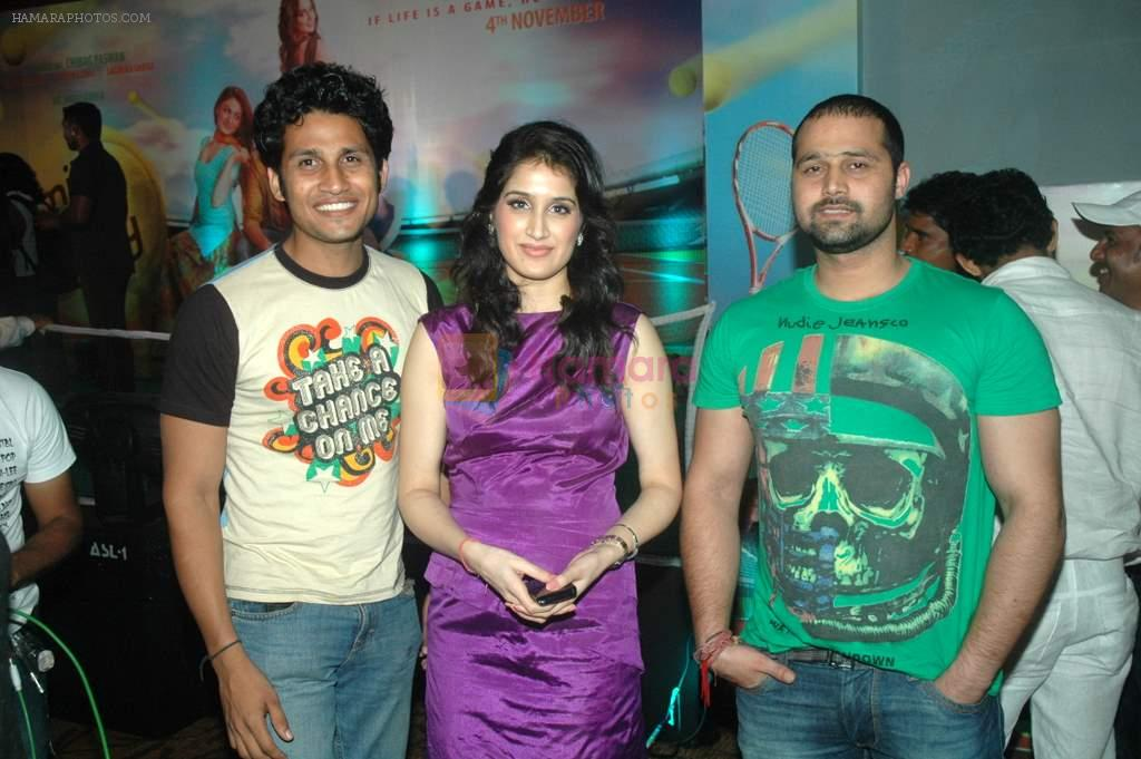 Sagarika Ghatge at the audio release of the film Miley Naa Miley Hum in Novotel on 28th Sept 2011