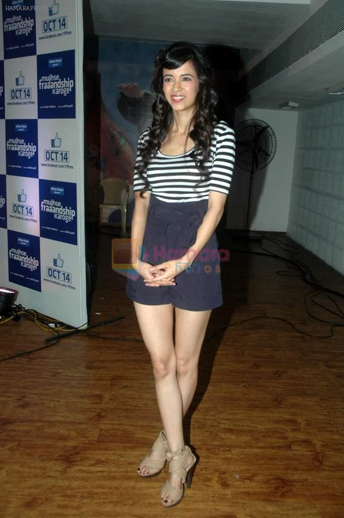 Saba Azad at Yashraj Films Mujhse Fraandship Karoge music showcase in Yashraj Studios on 28th Sept 2011