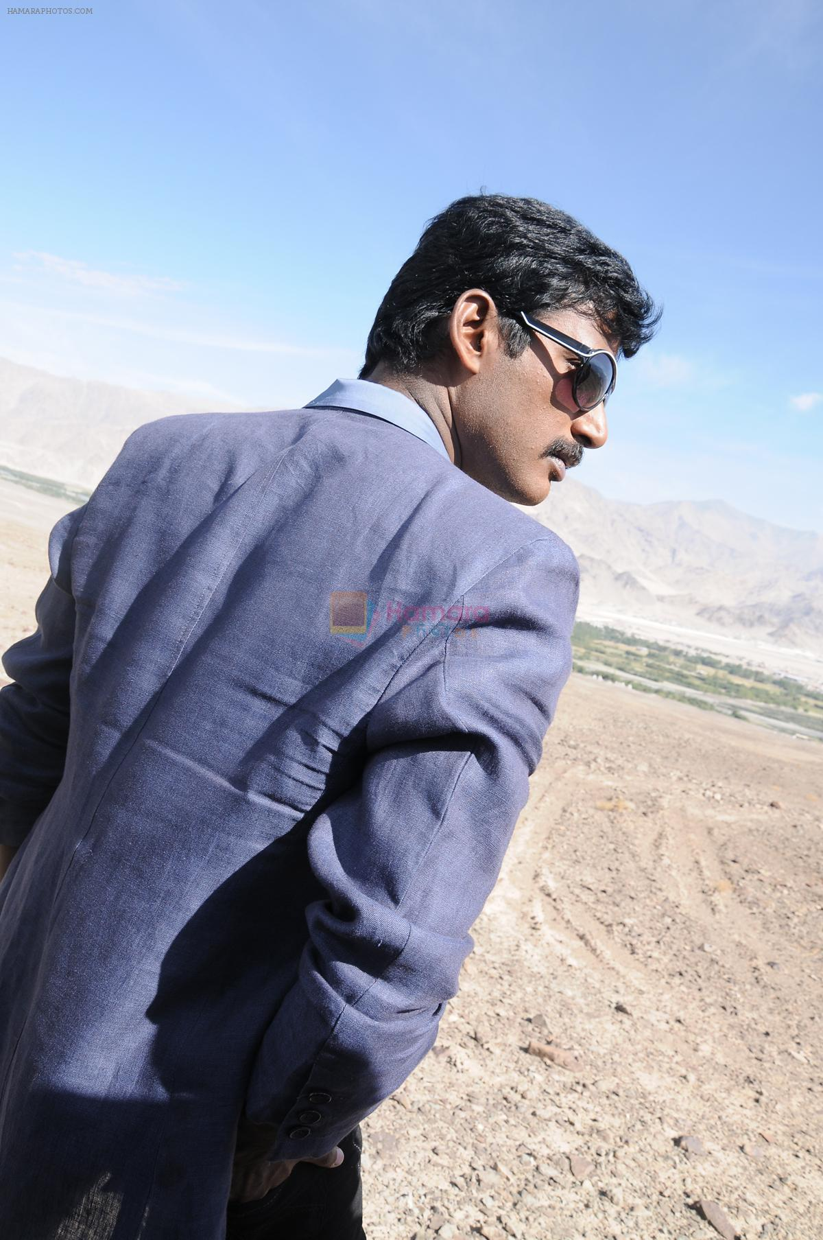 Vishal in Vedi Movie Stills