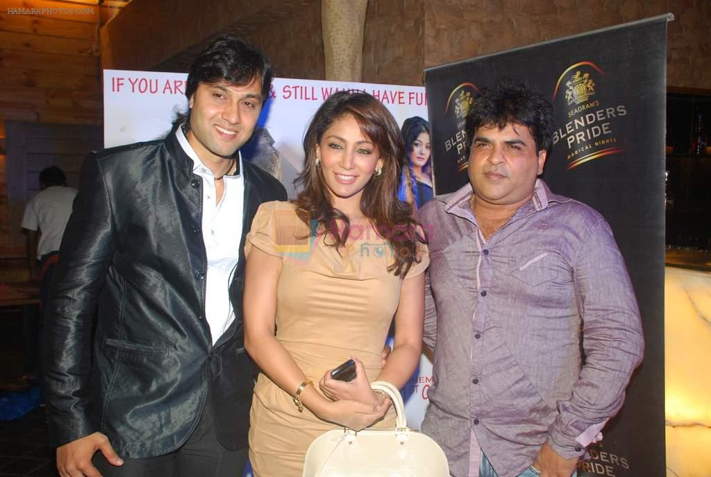 Zaid Shaikh, Shilpi Sharma at Be Careful music launch in Sheesha Lounge on 28th Sept 2011