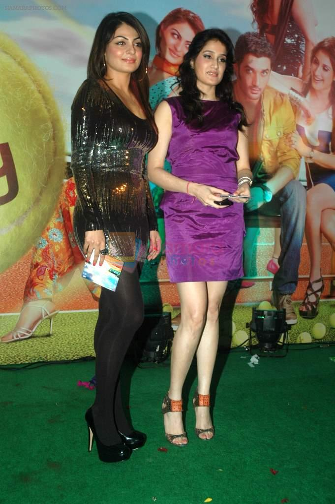 Neeru Singh, Sagarika Ghatge at the Audio release of Mujhse Fraaandship Karoge in Yashraj Studios on 28th Sept 2011