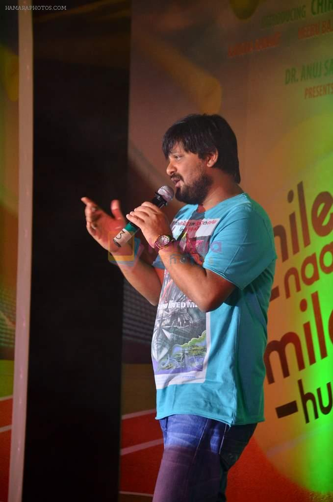 Wajid at the audio release of the film Miley Naa Miley Hum in Novotel on 28th Sept 2011