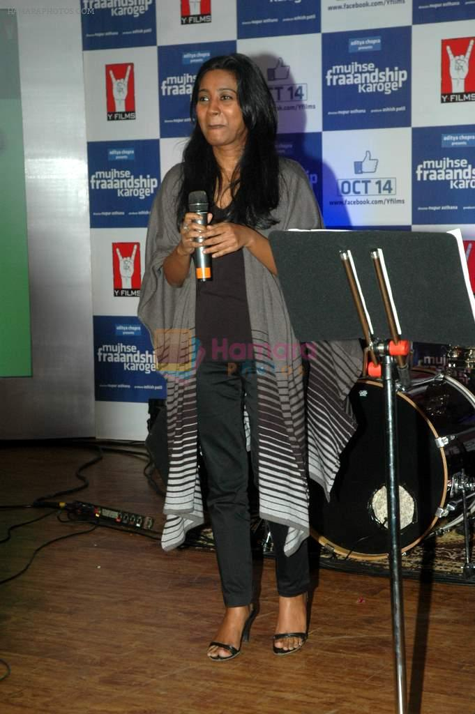 Shilpa Rao at Yashraj Films Mujhse Fraandship Karoge music showcase in Yashraj Studios on 28th Sept 2011