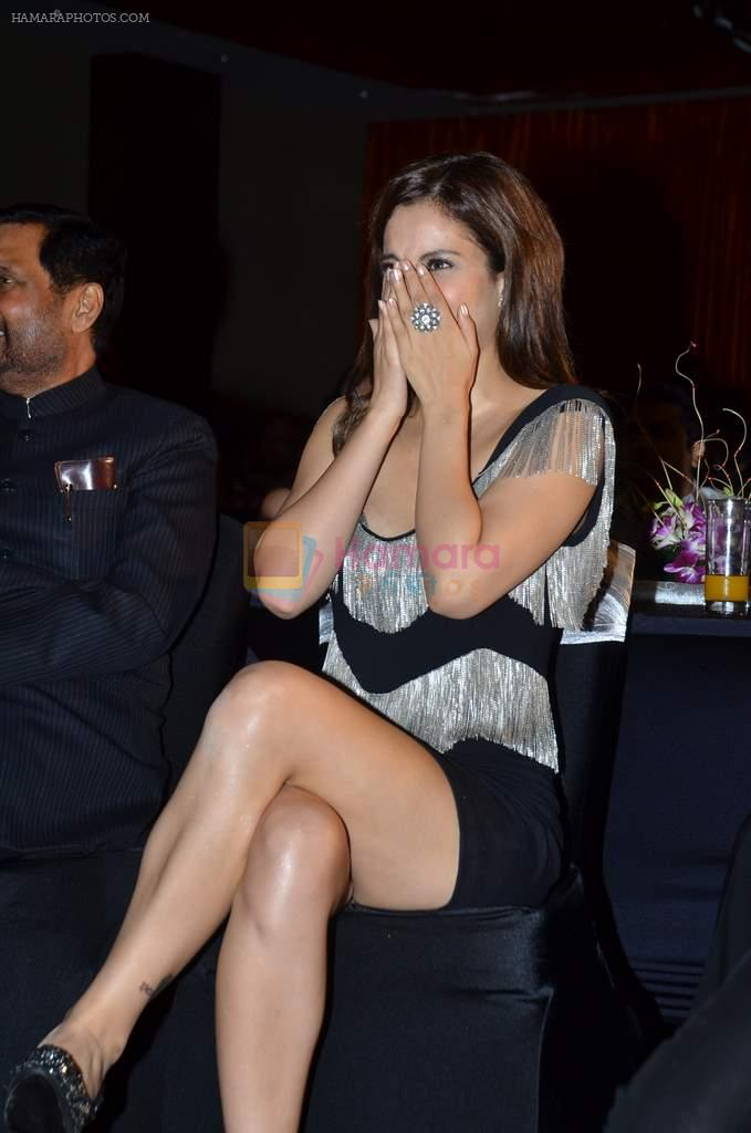 Kangna Ranaut at the Audio release of Mujhse Fraaandship Karoge in Yashraj Studios on 28th Sept 2011