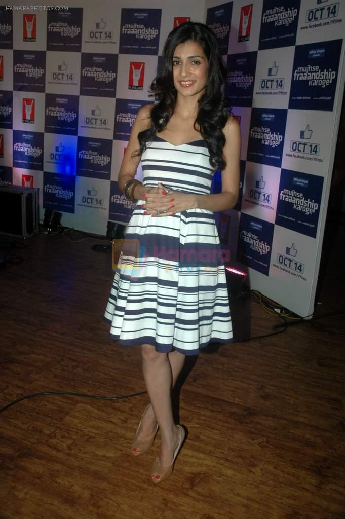 Tara D'souza at Yashraj Films Mujhse Fraandship Karoge music showcase in Yashraj Studios on 28th Sept 2011