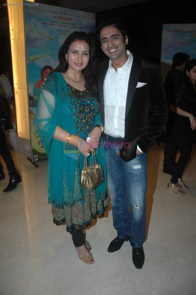Poonam Dhillon, Anuj Saxena at the audio release of the film Miley Naa Miley Hum in Novotel on 28th Sept 2011
