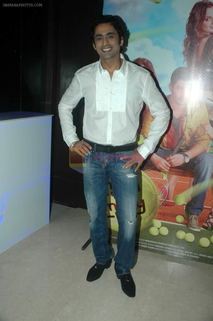 Anuj Saxena at the audio release of the film Miley Naa Miley Hum in Novotel on 28th Sept 2011