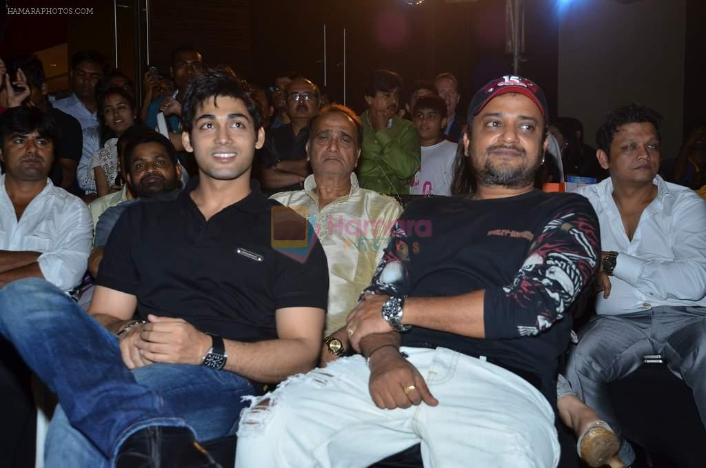 Ruslaan Mumtaz at the audio release of the film Miley Naa Miley Hum in Novotel on 28th Sept 2011
