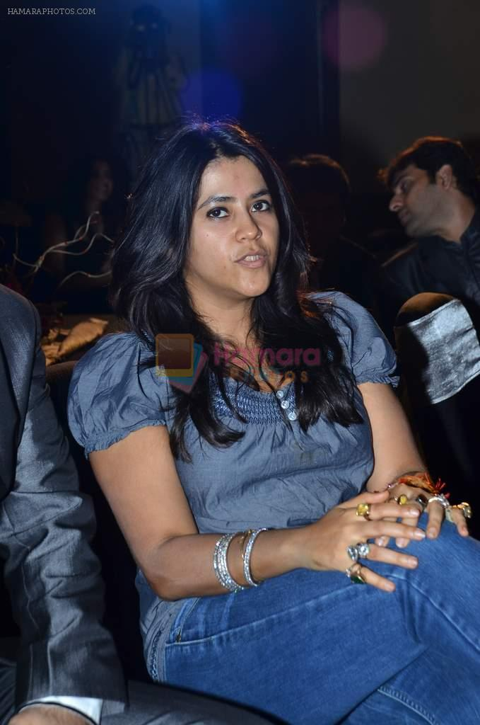 Ekta Kapoor at the audio release of the film Miley Naa Miley Hum in Novotel on 28th Sept 2011