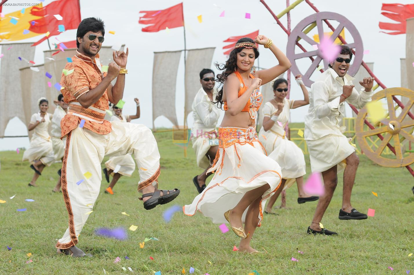 Haripriya, Nani in Pilla Zamindar Movie Stills