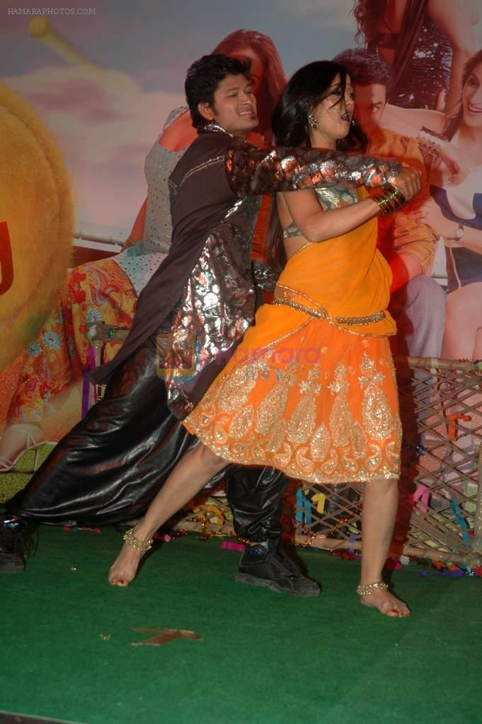 Shweta Tiwari at the Audio release of Mujhse Fraaandship Karoge in Yashraj Studios on 28th Sept 2011
