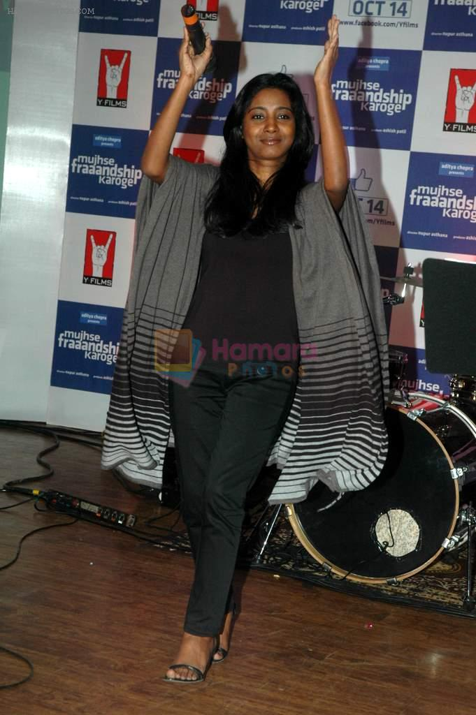 Shilpa Rao at the Audio release of Mujhse Fraaandship Karoge in Yashraj Studios on 28th Sept 2011