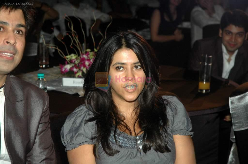 Ekta Kapoor at the Audio release of Mujhse Fraaandship Karoge in Yashraj Studios on 28th Sept 2011