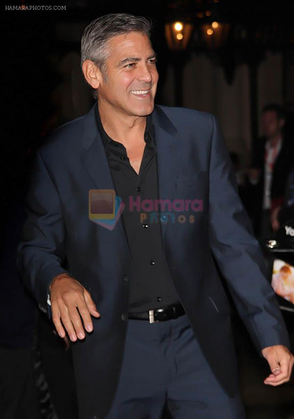 George Clooney arrived to the 55th Annual Times BFI London Film Festival _The Ides Of March_ Premiere at Odeon West End in Leicester Square on 19th October 2011