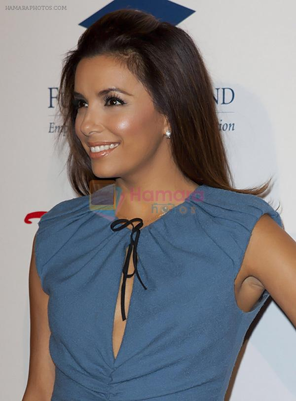 Eva Longoria arrived at Stars 2011 Gala to Benefit the Fulfillment Fund in Beverly Hilton Hotel, 9876 Wilshire Boulevard on November 1st, 2011