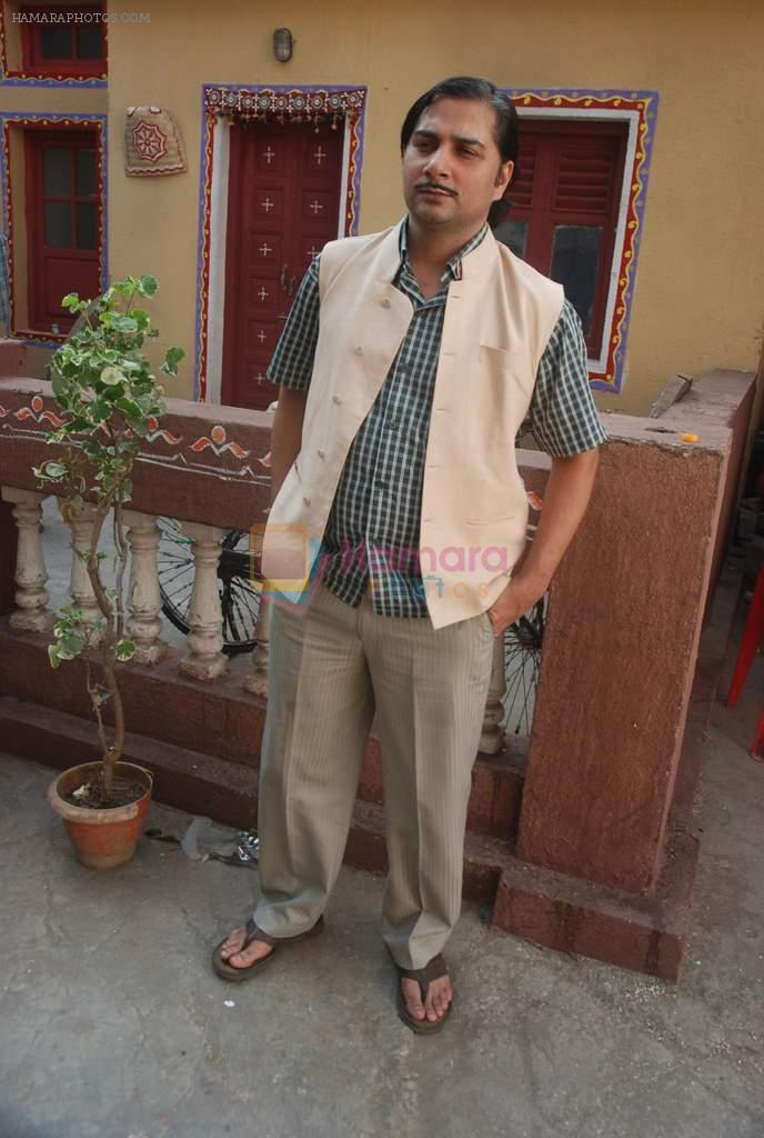 Varun Badola at the short film Bhola Bhagat snapped at the shoot in Filmistan on 25th Nov 2011