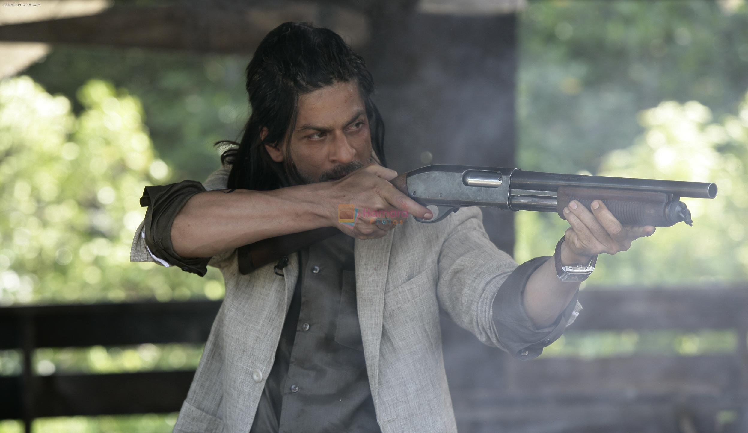 Shahrukh Khan in the still from movie Don 2