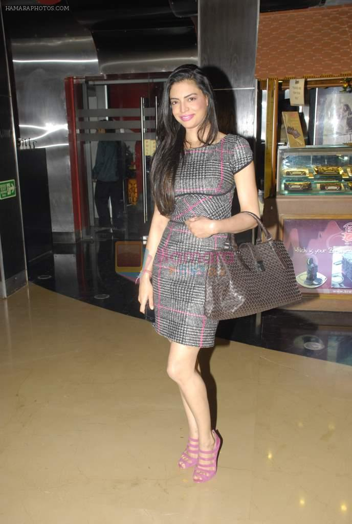 Shweta Bharadwaj at Pappu Can_t Dance Sala premiere in PVR, Mumbai on 15th Dec 2011