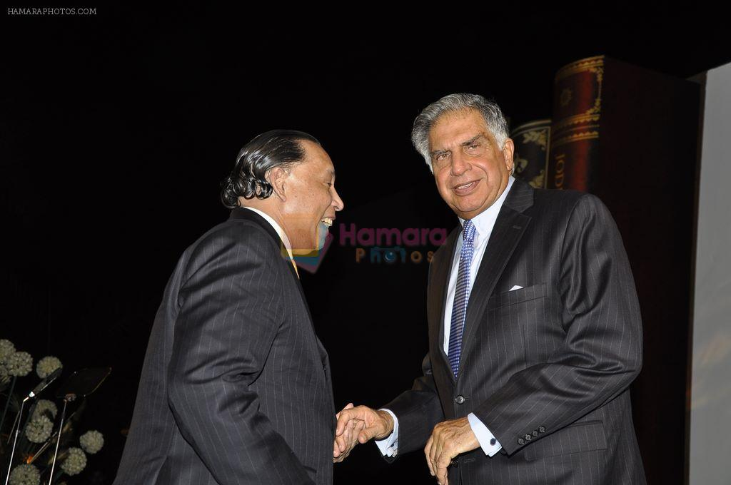 Ratan Tata at the launch of The Taj Book in The Taj Hotel, Mumbai on 18th Dec 2011
