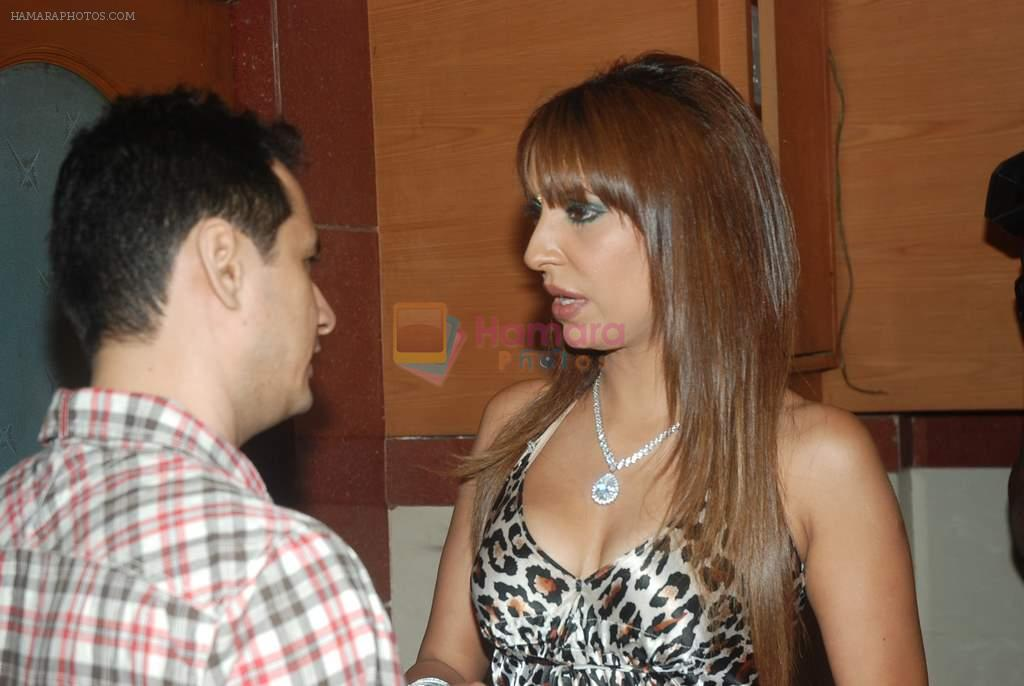Pooja Misra at a press conference in Andheri, Mumbai on 21st Dec 2011