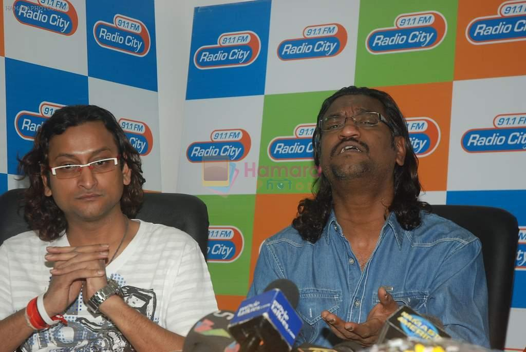 at Agneepath film music launch in Radiocity, Bandra, Mumbai on 21st Dec 2011