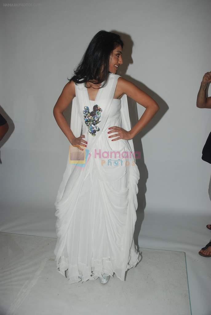 Mahek Chahal is styled by Designer Amy Billimoria in Andheri, Mubai on 21st Dec 2011