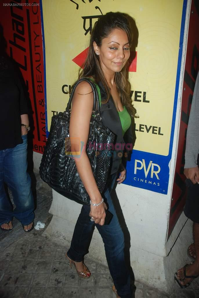 Gauri KHan at Don 2 special screening at PVR hosted by Priyanka on 22nd Dec 2011