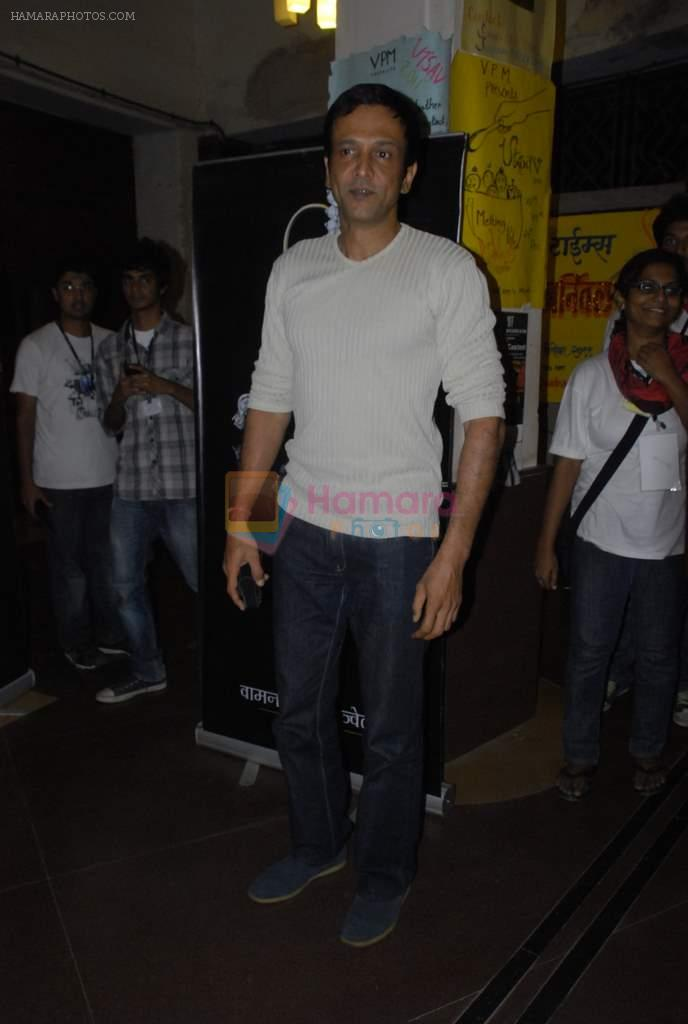 Kay Kay Menon at Chaalis Churasia film promotion at college fest in RUIA College, Matunga on 22nd Dec 2011
