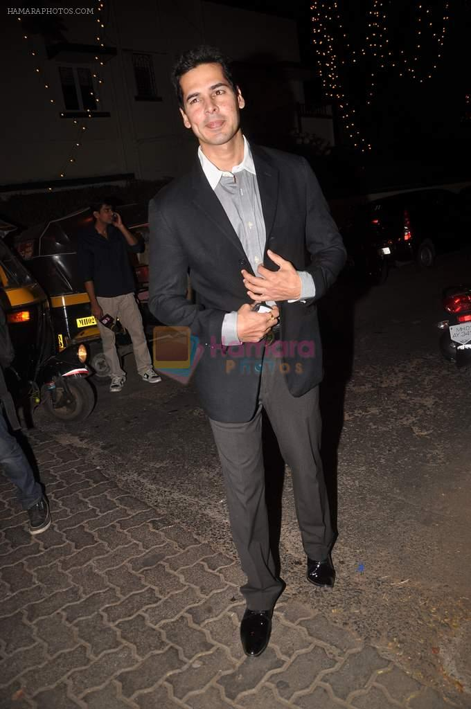 Dino Morea at Midnight mass in Bandra, Mumbai on 24th Dec 2011