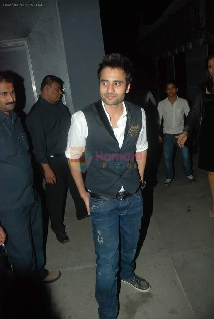 Jacky Bhagnani at Jacky Bhagnani's birthday bash in Juhu, Mumbai on 24th Dec 2011