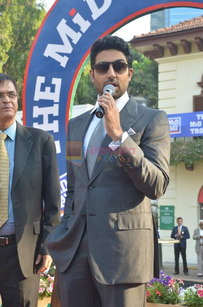 Abhishek Bachchan at Mid-Day Race in RWITC, Mahalaxmi on 25th Dec 2011