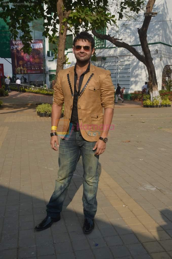 Mahakshay Chakraborty at Mid-Day Race in RWITC, Mahalaxmi on 25th Dec 2011