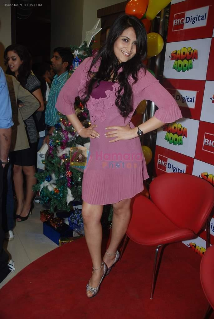 at Sadda Adda music launch in Big FM on 26th Dec 2011
