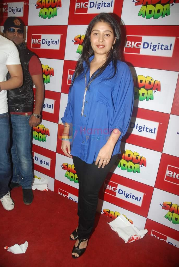 Sunidhi Chauhan at Sadda Adda music launch in Big FM on 26th Dec 2011
