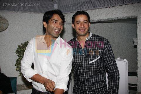 at Rati Agnihotri's bash for son Tanuj in Bandra, Mumbai on 27th Dec 2011