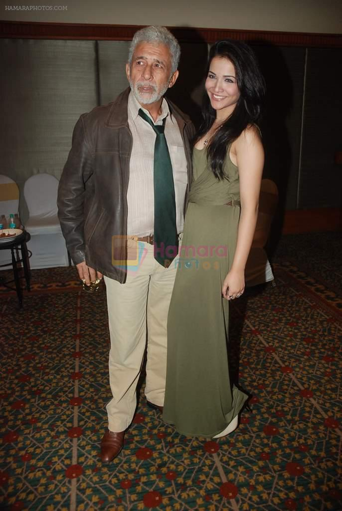 Naseeruddin Shah at Chaalis Chaurasi music launch in J W Marriott on 28th Dec 2011