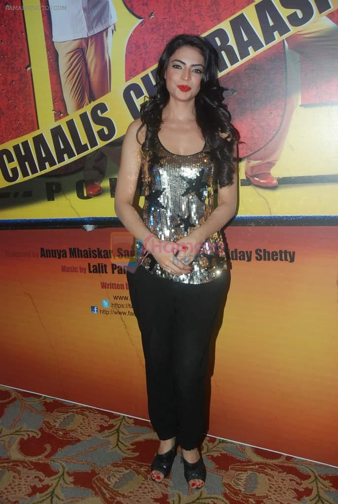 Shweta Bharadwaj at Chaalis Chaurasi music launch in J W Marriott on 28th Dec 2011