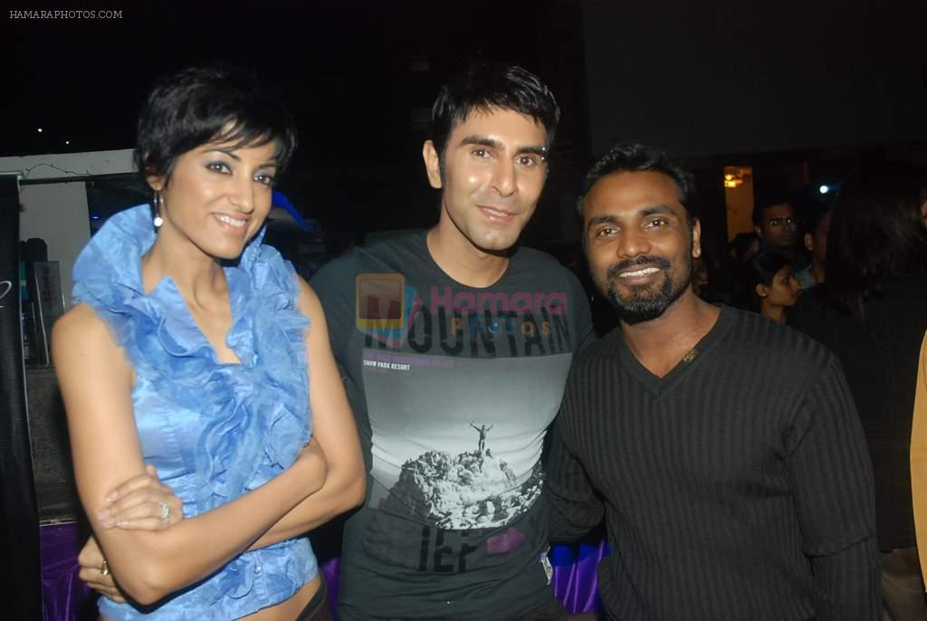 Remo D Souza, Jesse Randhawa, Sandip Soparkar at Zee's Dance India Dance bash by Shakti Mohan in Andheri, Mumbai on 29th Dec 2011