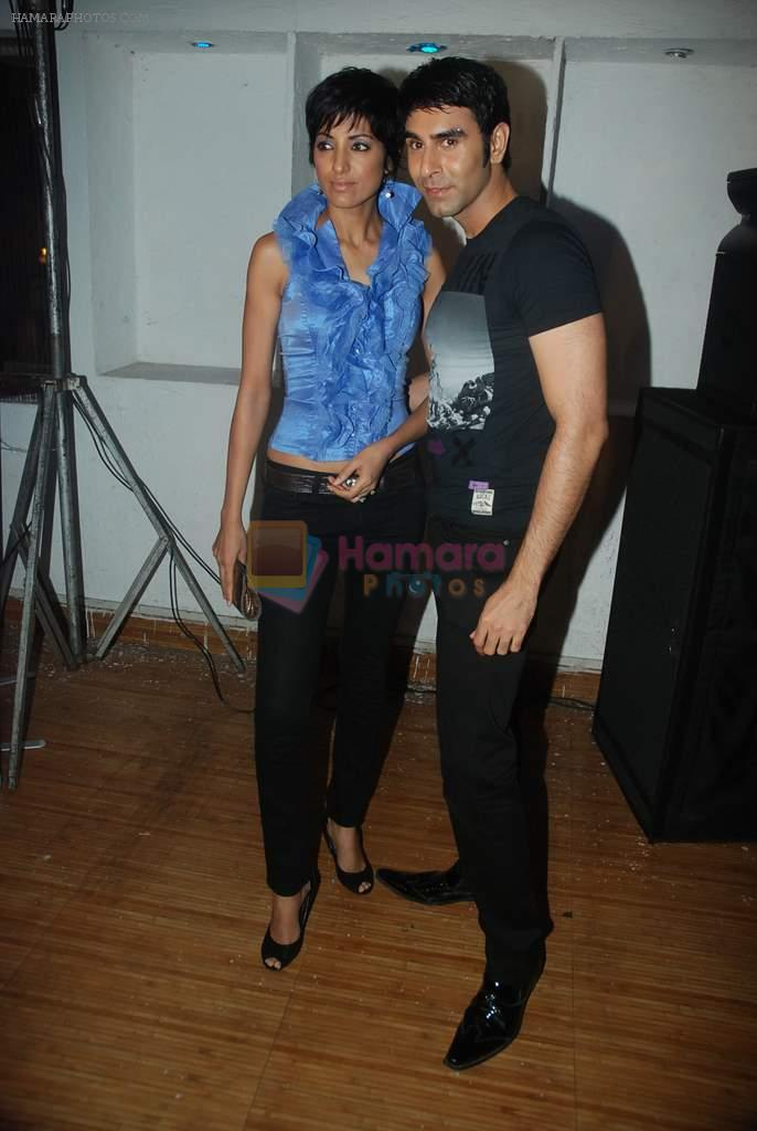 Jesse Randhawa, Sandip Soparkar at Zee's Dance India Dance bash by Shakti Mohan in Andheri, Mumbai on 29th Dec 2011