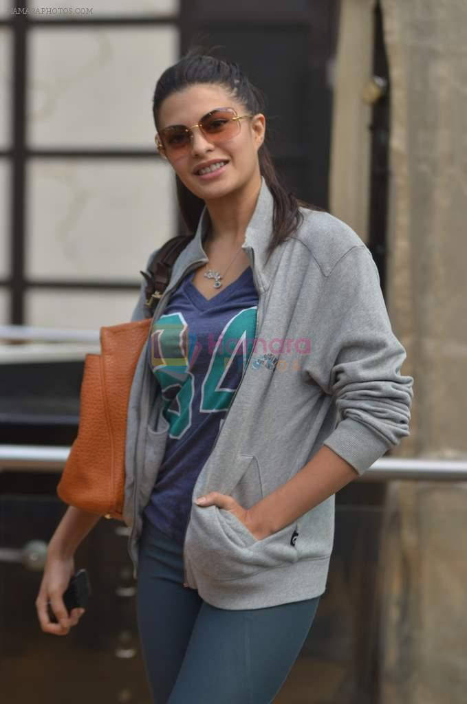Jacqueline Fernandez practice for Sahara Star Seduction in Sahara Star on 30th Dec 2011