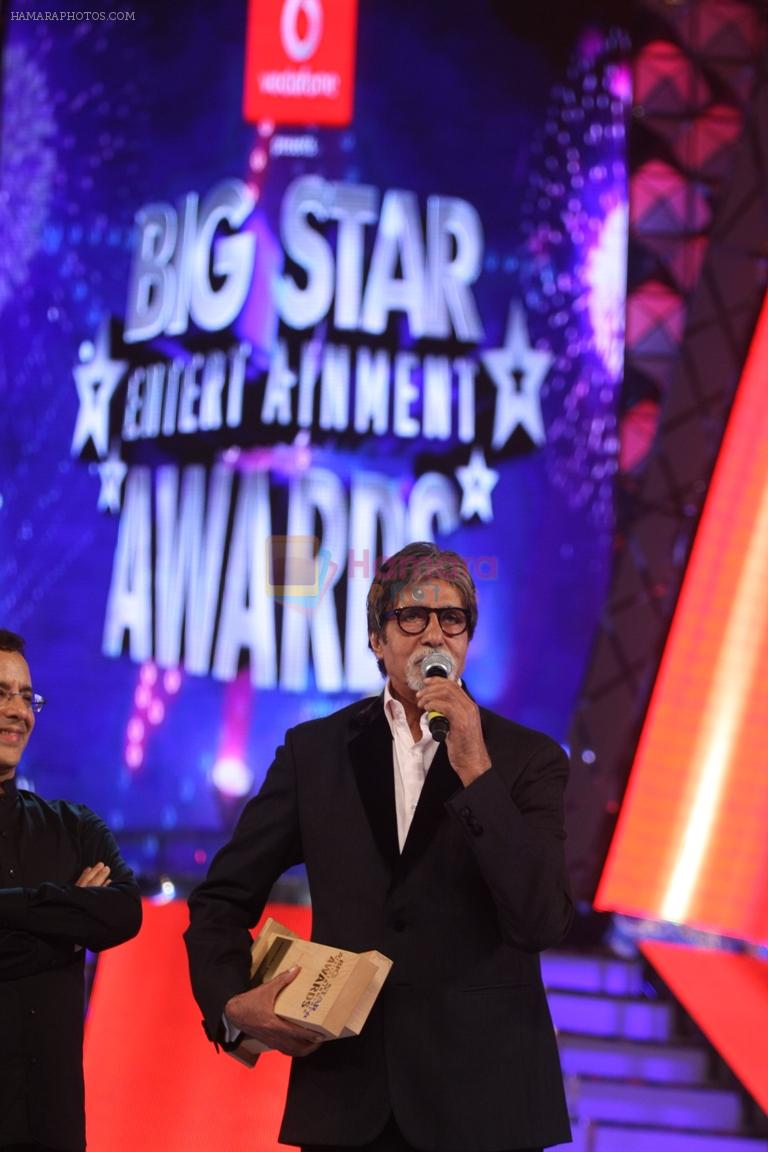 Amitabh Bachchan at BIG Star Entertainment Awards 2011