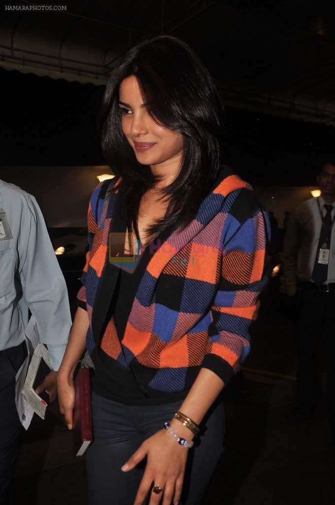 Priyanka Chopra snapped at international airport on 30th Dec 2011