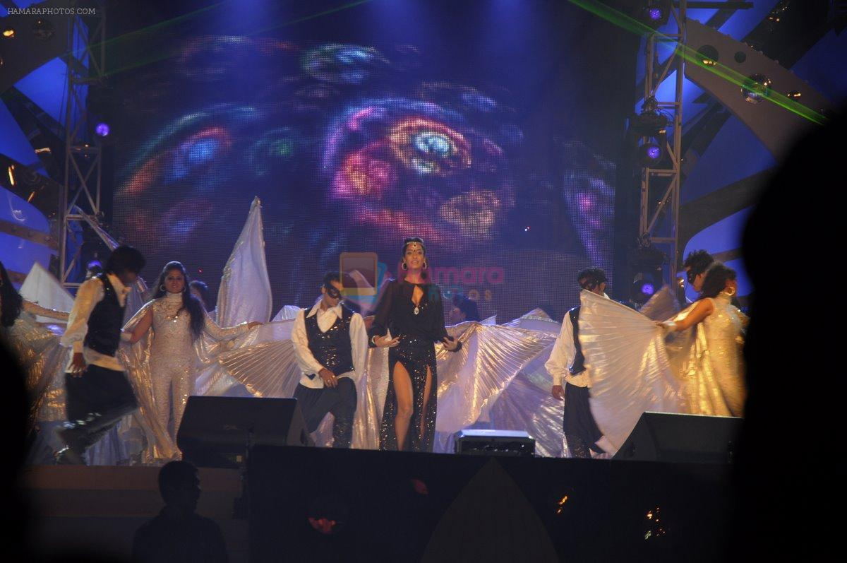 Lisa Haydon at Aamby Valley New Years Party on 31st Dec 2011