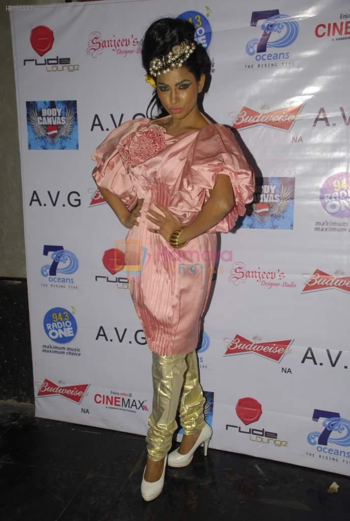 Shifanjali Shekhar at Rainbow 2012 by coveted designer Aarti Vijay Gupta in Rude Lounge, Mumbai on 1st Jan 2012