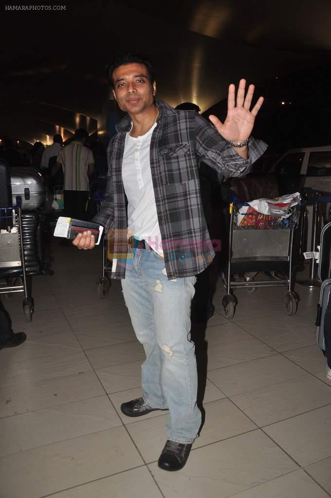 Uday Chopra returns from their vacation on 2nd Jan 2012
