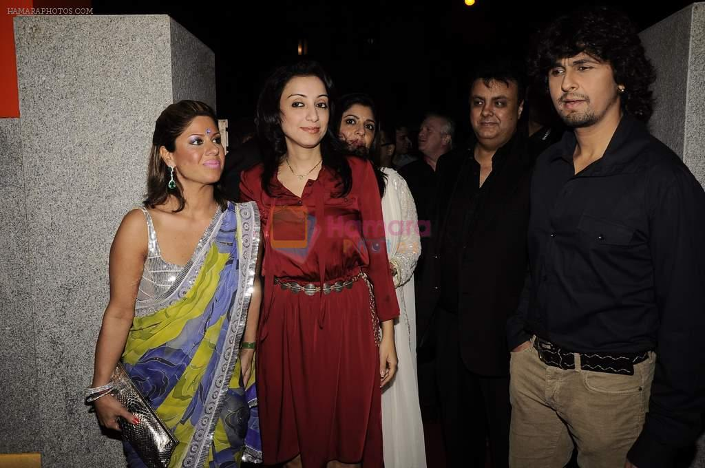 Sonu Nigam at Mangiamo restaurant launch in Bandra, Mumbai on 3rd Jan 2012